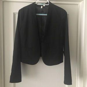 Frenchi Black Cropped Blazer